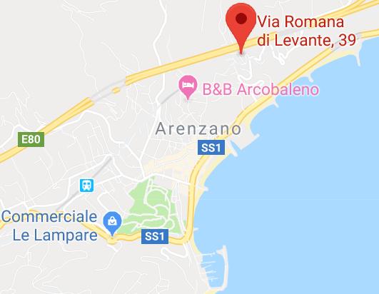 Appartamento Arenzano viaromana